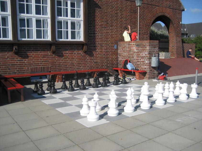 Schach im Freien